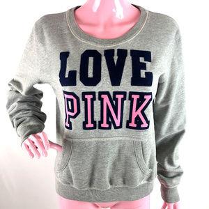 Victoria's Secret Velour LOVE PINK Sweatshirt